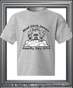 RDJ Family Day T-Shirt - YOUTH Sizes Design Zoom