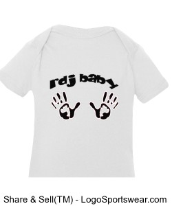 Infant Fine Jersey Creeper  Design Zoom