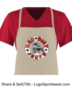 RDJ BBQ Apron - Many Color Options Availalbe Design Zoom
